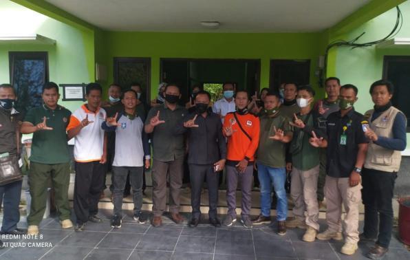 Kunjungan Kerja Ketua DPRD Provinsi, Sekretaris DPRD Provinsi, Kepala Bappelitbangda Provinsi beserta rombongan