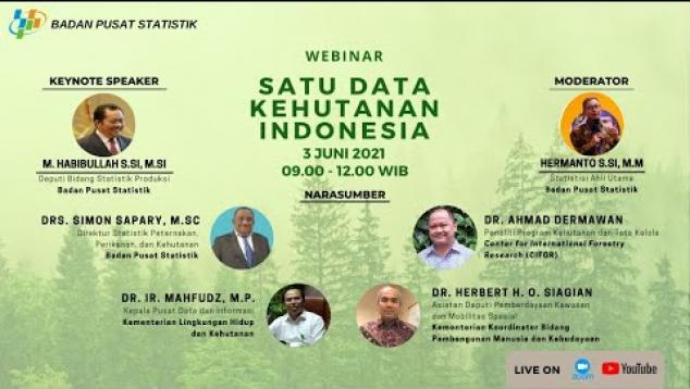 Embedded thumbnail for ebinar Satu Data Kehutanan Indonesia