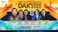 Embedded thumbnail for Sosialisasi Arah Kebijakan DAK Fisik dan Non Fisik 2022