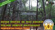 Embedded thumbnail for HUTAN NYATOH INI MAU DIBABAT, TERJADI KONFLIK MASYARAKAT