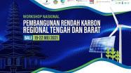Embedded thumbnail for Workshop Nasional: Pembangunan Rendah Karbon Regional Tengah Dan Barat